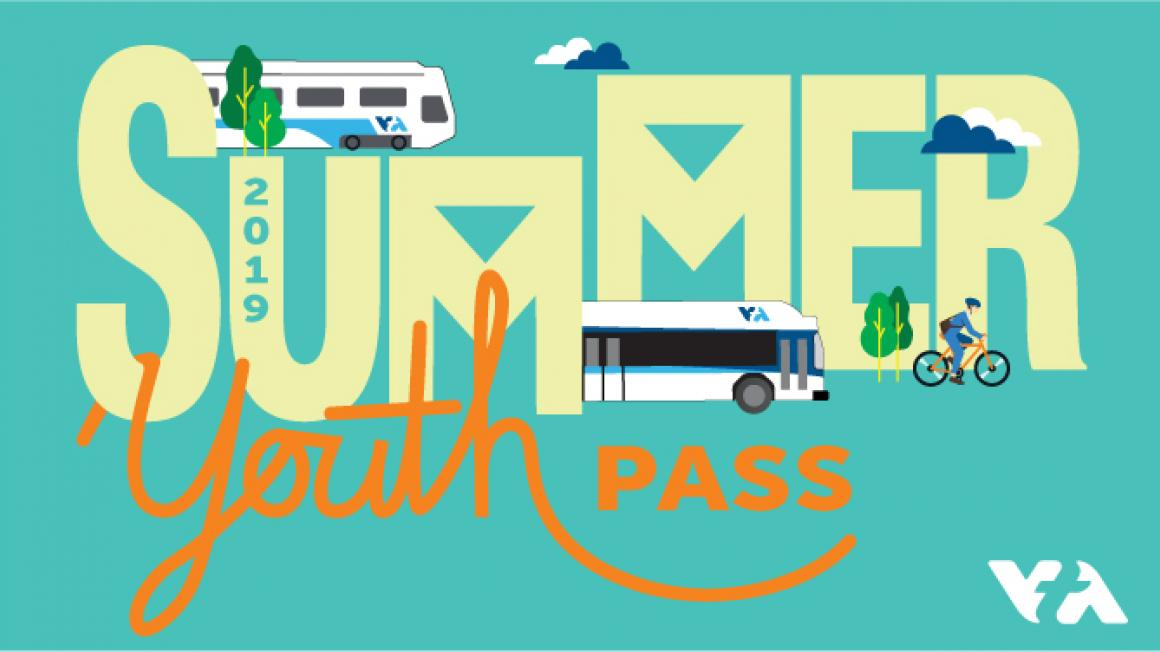 Summer Youth Pass graphic