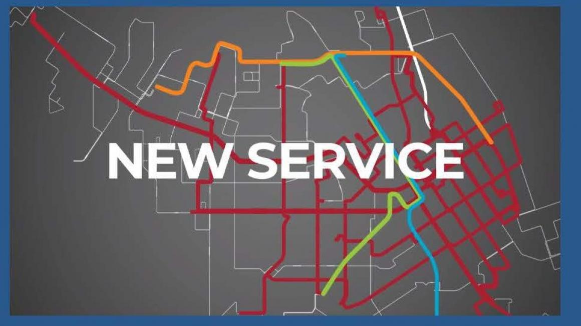 New Service map