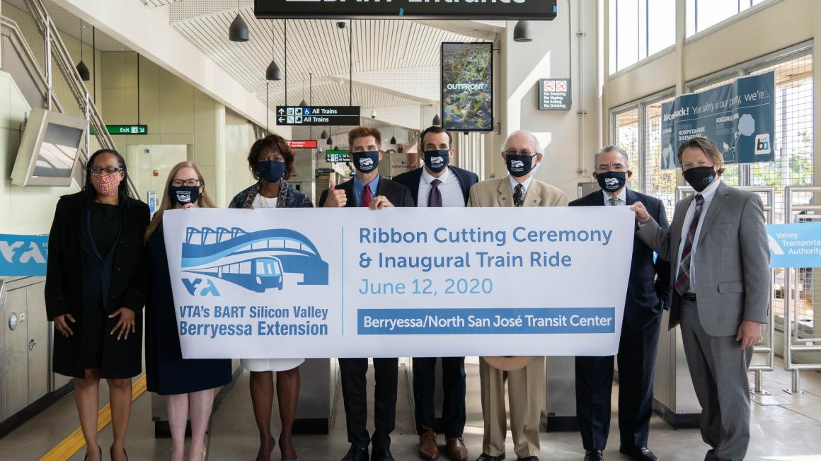 Vta And Bart Celebrate Rapid Rail Service To Milpitas And San Jose Vta