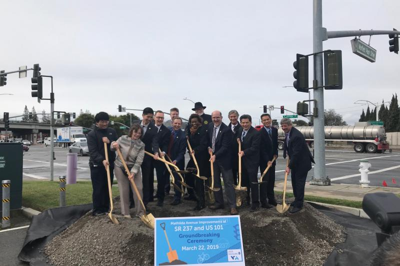 mathilda ave groundbreaking