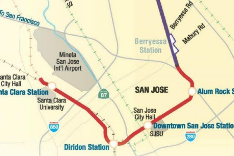 BART phase two map