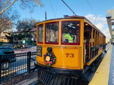 Historic Holiday Trolley